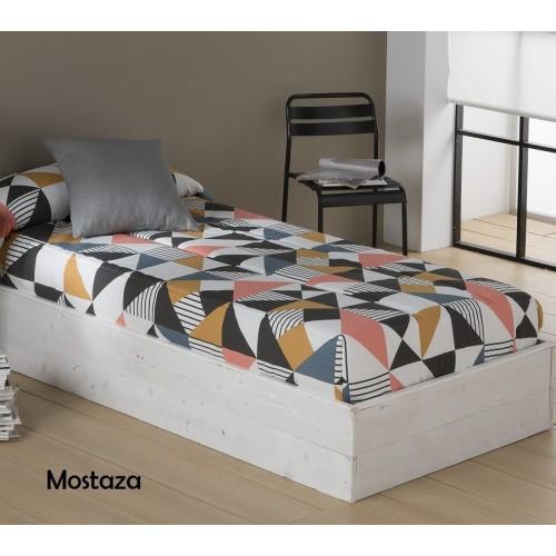 Edredón ajustable EVOL SANSA Mostaza| Softdreams