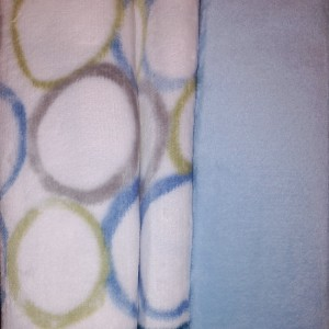 Juego sábanas Microseda VALLEY Azul