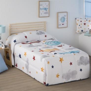 Edredón Conforter AVIONES Ilustrando Tus Sueños | Softdreams
