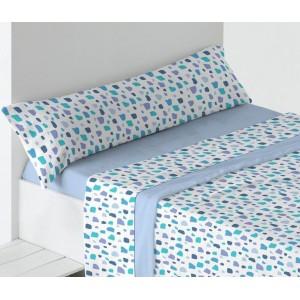 Sábanas Coralina Ingrid Azul