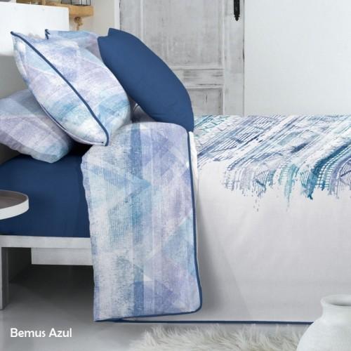 Funda Nórdica REVERSIBLE BEMUS Azul - CAÑETE