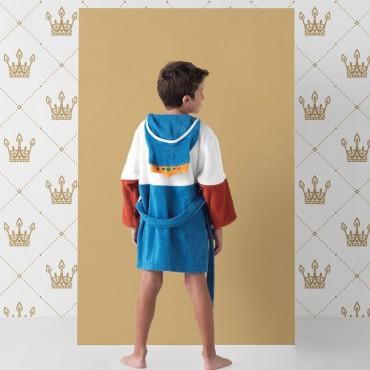 Albornoz Infantil KING Rizo Basic