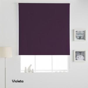 Estor Enrollable LISO OPACO Violeta