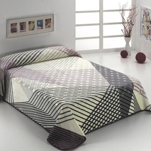Manta LUXURY PLUS D27 Malva Textils Mora