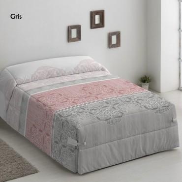 Edredón Conforter NAIMA GRIS Camatex