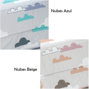Edredón Conforter Nubes Colores