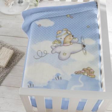 Manta bebé Aviador 6378 Pielsa