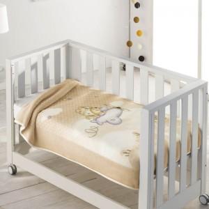Manta cuna  bebé Aviador 6378 Pielsa