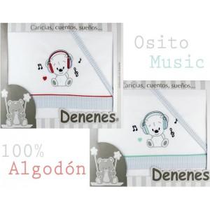 Juego sábanas OSITO MUSIC Denenes