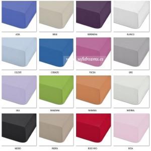 Funda almohada lisa MIX&MAX 50/50 ABECE Colorido
