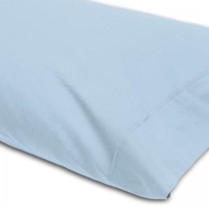 Funda almohada lisa MIX&MAX 50/50 ABECE Azul