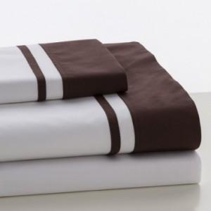 Juego sábanas LISO MARBELLA ES-TELA Chocolate| Softdreams
