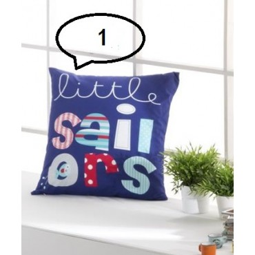 Cojín SAILORS de Tejidos JVR - Softdreams ropa de cama y hogar