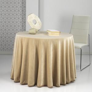 Falda mesa camilla Rectangular PREMIUM Beig
