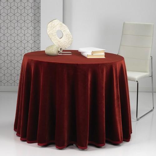 Falda mesa camilla redonda - ovalada STAR Mora