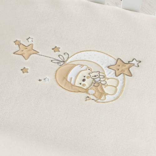 Manta bebe bordada Luna 6226 Pielsa