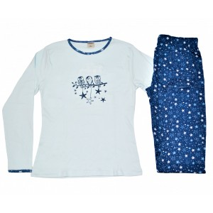Pijama algodón BUHOS KINANIT