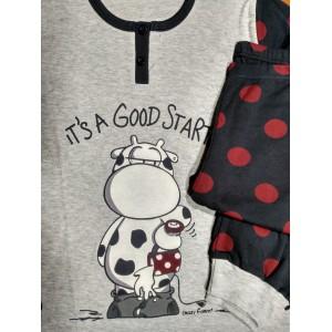 Pijama Juvenil algodón CRAZY FARM